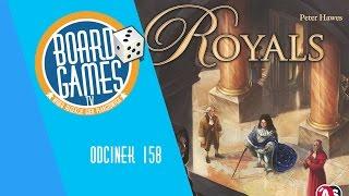 Royals - gra planszowa , recenzja wideo