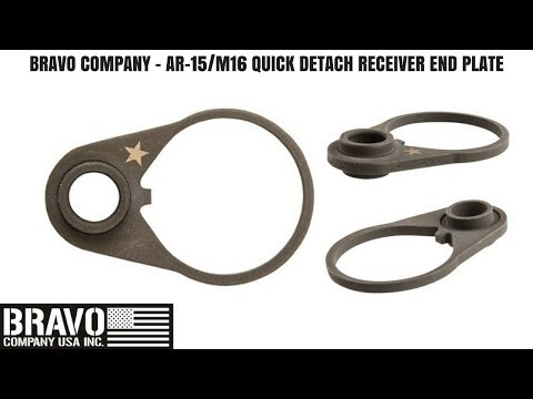 BCM QD END PLATE - Tabletop Review