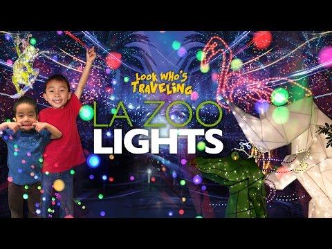 LA Zoo Lights: Look Who's Traveling