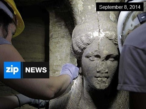 Alexander-Era Statues Discovered In Greek Tomb - Sep 8, 2014