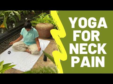 yoga for neck pain  youtube