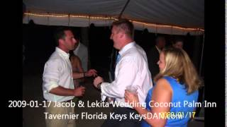2009 01 17 Jacob & Lekita Wedding Coconut Palm Inn Tavernier Florida Keys KeysDAN com