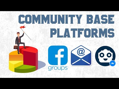 Community base platforms and why they are so important!