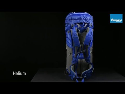 afb88c564eebf Bergans Helium backpack - YouTube