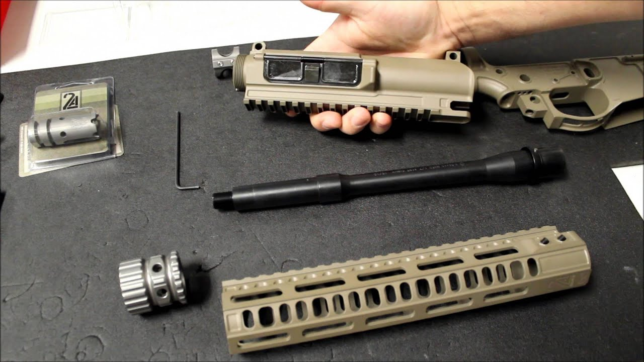 2A Armament BL-RAIL and SR-RAIL Overview and install