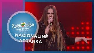 """Justina Žukauskaitė - """"Hit me harder"""" - Nacionalinė Eurovizijos atranka"""