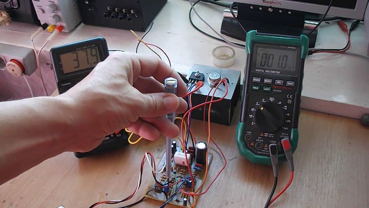 Лабораторный БП 0-30В/0-3А (повышаем входное напряжение ...