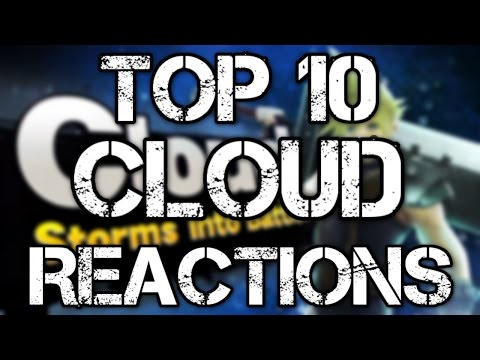 Top 10 Cloud Strife In Smash Bros Trailer REACTIONS!