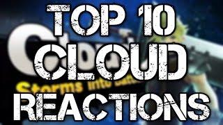 Top 10 Cloud Strife In Smash Bros Trailer REACTIONS!