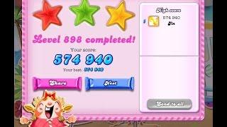 Candy Crush Saga Level 898     ★★★   NO BOOSTER