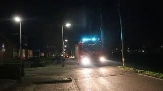 19-01-18 TS 09-2932 met spoed naar Woningbrand - Oostkade (Hekendorp)