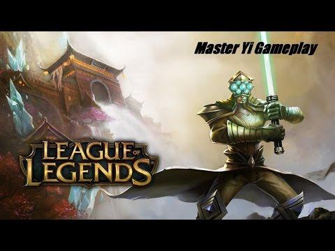 Chosen Master Yi Jungle Gameplay