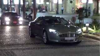 Aston Martin Rapide from Saudi Arabia @ The Walk JBR Dubai Marina