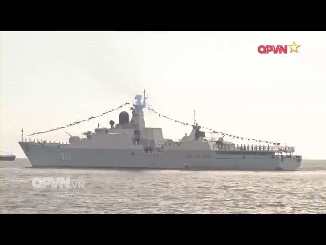 Toàn cảnh hoạt động của Tàu hộ vệ tên lửa Hải quân Việt Nam tại LIMA 2017