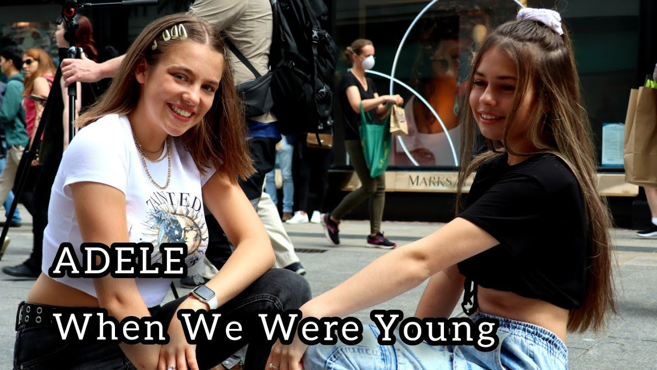HER VOICE IS UNIQUE - Adele - When We Were Young - Allie Sherlock & Saibh Skelly Cover