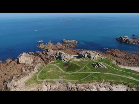 A tour of Grandes Rocques, Guernsey in 4k