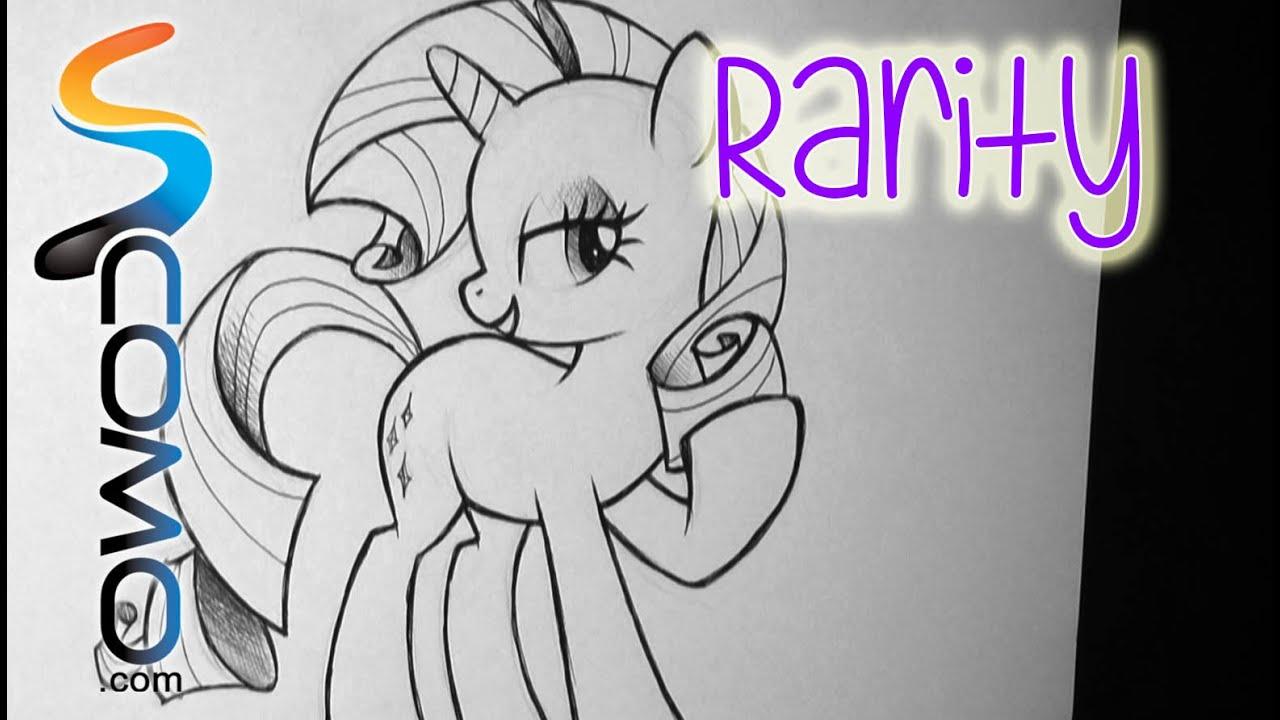 Dibujar a Rarity de My Little Pony  YouTube