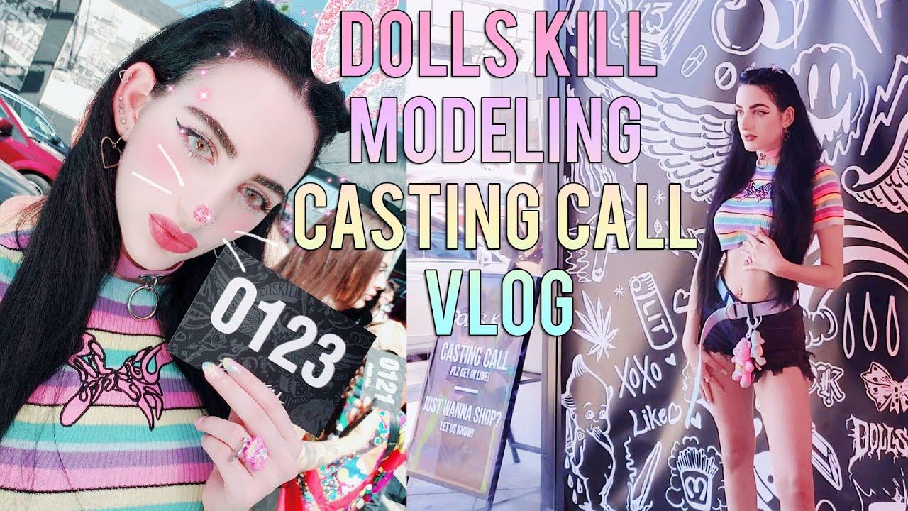 ♡LA Vlog♡ : Dolls Kill Modeling Casting Call