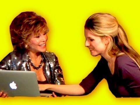 Jane Fonda Full Interview w LisaNova