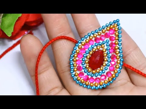 How to Make Rakhi at Home | Handmade Rakhi Design for Competition | Rakhi Making Ideas 2019