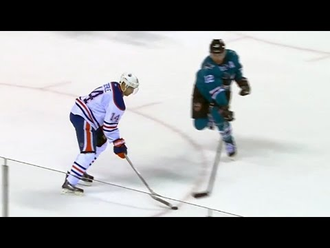 Eberle toe drags and dekes for gorgeous goal