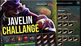 JAVELIN CHALLENGE - SingSing 9x Javelin Pangolier Epic Build 7.07 | Dota 2