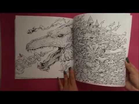 Mythomorphia Coloring Book By Kerby Rosanes
