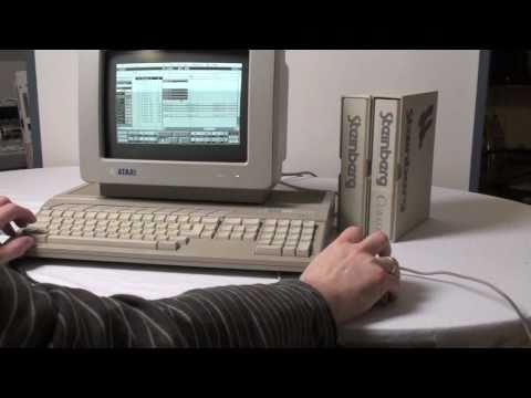 Atari ST mit Notator und Cubase