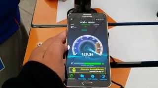 Test de velocidad 4G LTE de Entel [Samsung Galaxy Note 3]