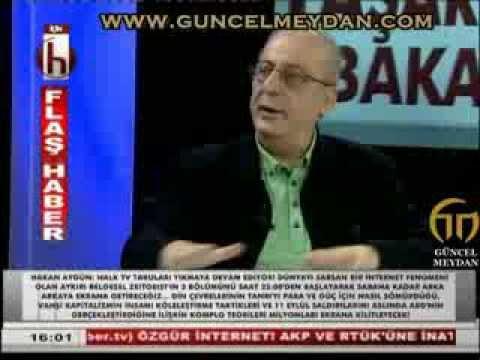 Cengiz özakinci 10 Ağustos 2013 Halk Tv Youtube
