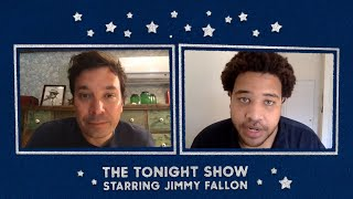 Jimmy's Call with Tonight Show Writer Tim Barnes Gets Interrupted by White Guilt