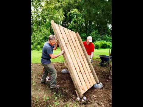 Firewood Shed Plans How To Build A Firewood Shed Youtube