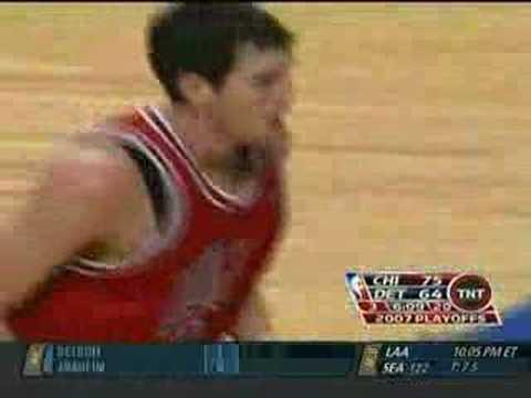 Kirk Hinrich (Bulls vs Pistons Game 5, 2007)