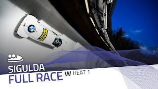 Sigulda | BMW IBSF World Cup 2019/2020 - Women's Bobsleigh Heat 1 | IBSF Official