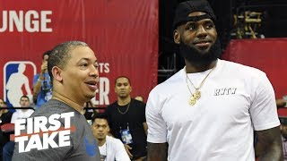 Ty Lue coaching the Clippers is no threat to LeBron's title run - Stephen A. | First Take