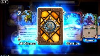 Witchwood Piper - The Witchwood Hearthstone rare card pack opening
