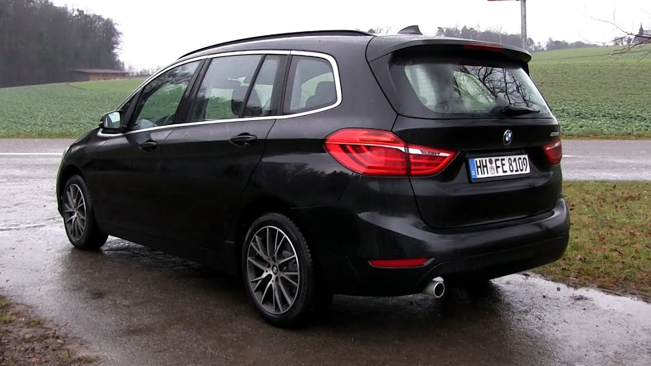2015 bmw 218d gran tourer 150 hp test drive youtube. Black Bedroom Furniture Sets. Home Design Ideas