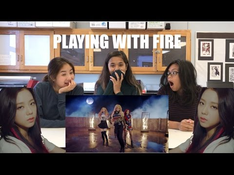 Blackpink Playing With Fire Mv Reaction Youtube