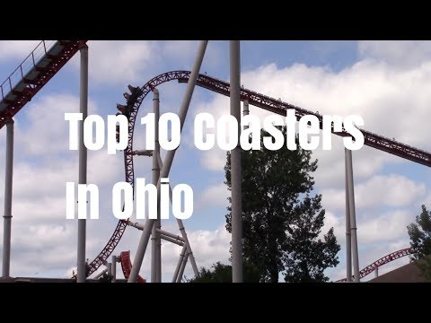 Top 10 Coasters in Ohio