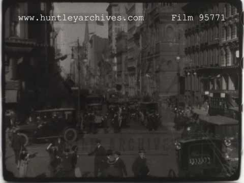 New York Traffic, 1910s - Film 95771