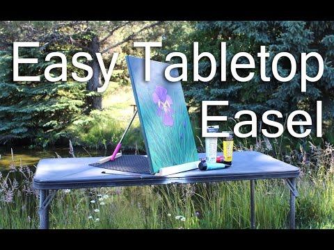Easy Tabletop Easel for $3.