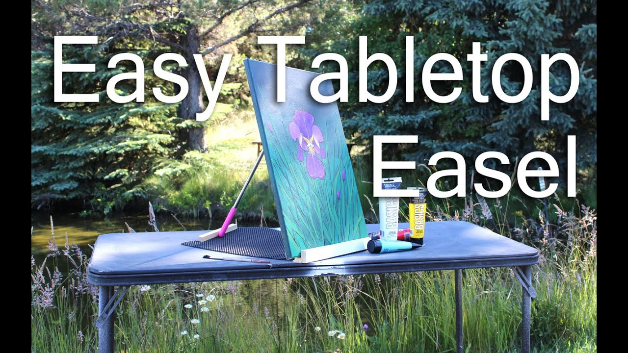 Easy tabletop easel for 3 youtube easy tabletop easel for 3 solutioingenieria Gallery