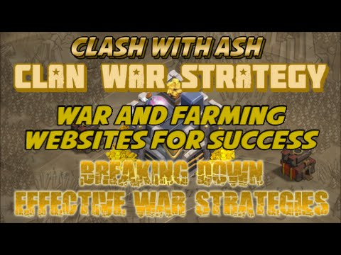 Clash Of Clans | 3 Websites for Success | ClashCaller, LootForecaster, Warclans Tips