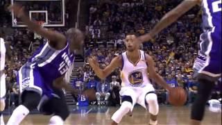 Stephen Curry Steals & Splashes a Three   Kings vs Warriors   Oct 6, 2016   2016 17 NBA Preseason