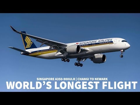 Why does the WORLD'S LONGEST FLIGHT Operate into NEWARK?