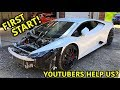 Rebuilding A Wrecked Lamborghini Huracan Part 4 - YouTube
