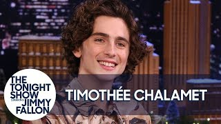 Timothée Chalamet and Jimmy Audition as a Tree and Chair for Greta Gerwig's Next Film