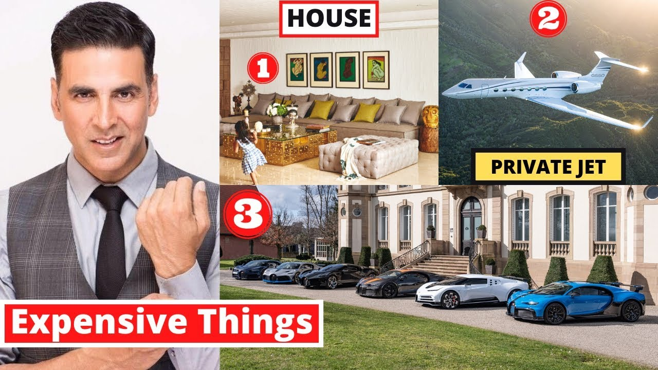 10 Most Expensive Things Akshay Kumar Owns - MET Ep 2