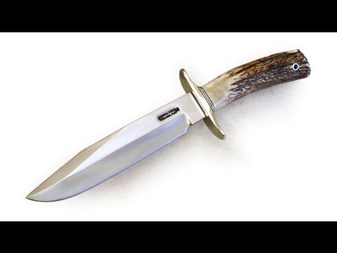 Stag Antler Custom Randall Knife Model 14 15 and Medford Praetorian Emperor Knives