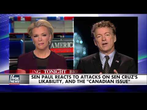 Rand Paul trolls Ted Cruz on Canada eligibility